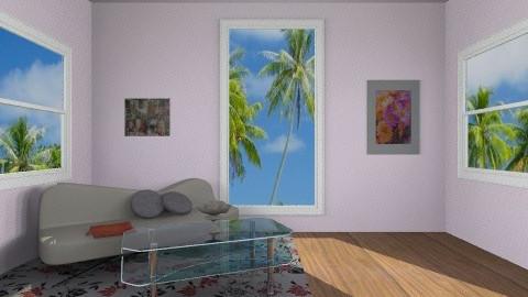 Modern living room - Modern - Living room - by mirka04