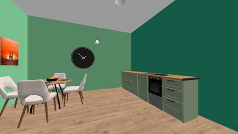 Hazels kitchen  - Kitchen - by weasls are cool