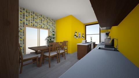 kitchen - Country - Kitchen - by izzyluck18