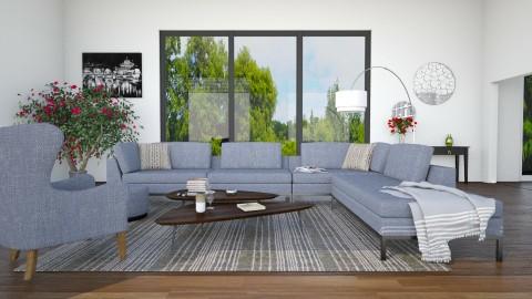 Virginia and  Galveston - Living room - by mariescorner