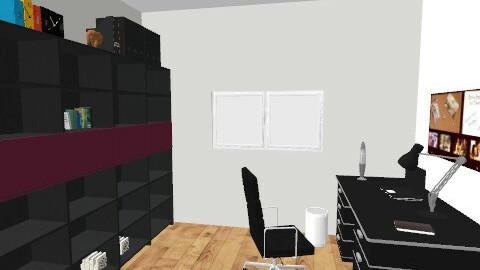 office view2 - Modern - Office - by lucian_serpi