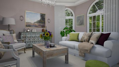 Shabby Chique - Living room - by Tuija