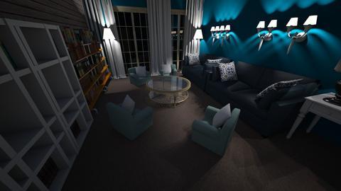 czytelnia - Living room - by pasja_