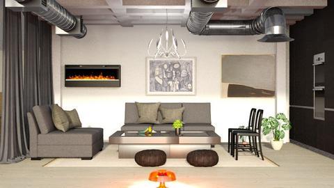 Sala de Loft - Living room - by jasmin_jasmin