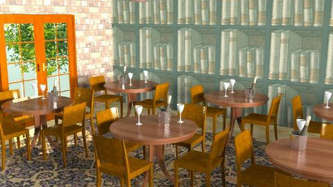 The library bar - Retro - by cleyenne
