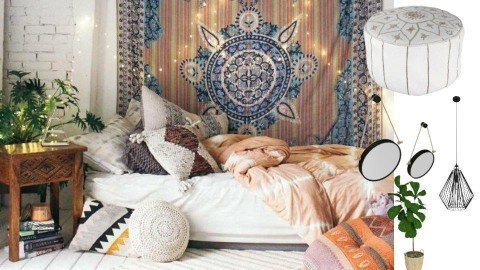 Boho Bedroom - by SKS419