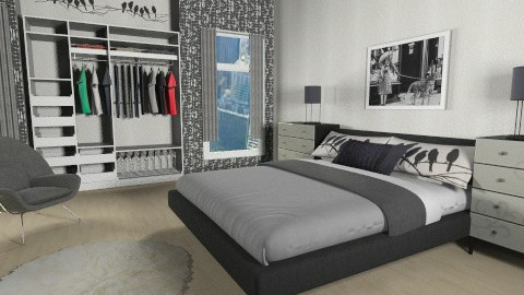 Raven - Bedroom - by ProOlya