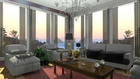 Diane House - Vintage - Living room - by Oliveira Fabio