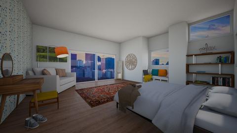 city bedroom - Bedroom - by thompsoni