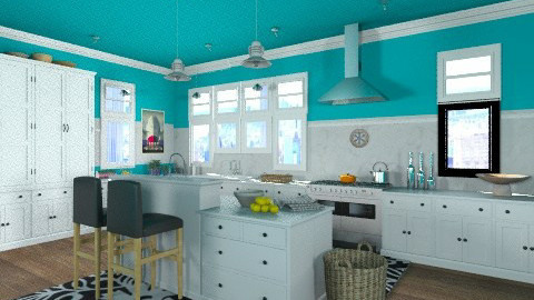 Cape Cod Kitchen loft - Classic - Kitchen - by ferguesfalls