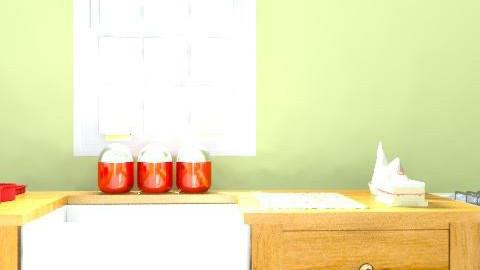 Abbie Ingleby - Country - Kitchen - by happydaysrgr8