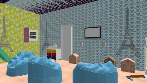kids play room - Glamour - Kids room - by ren160
