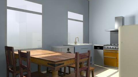 kitchen2TC - Retro - Kitchen - by mydecotonycom