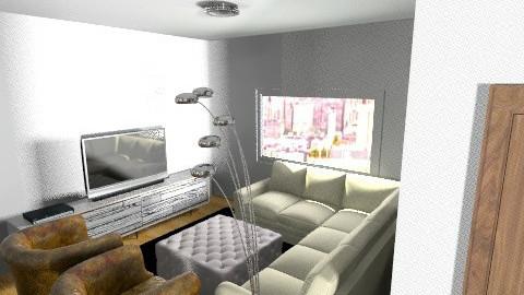 Sala  - Classic - Living room - by SuperRigoni