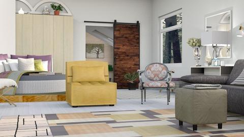 Modern Mashup - Modern - Bedroom - by Jessica Fox
