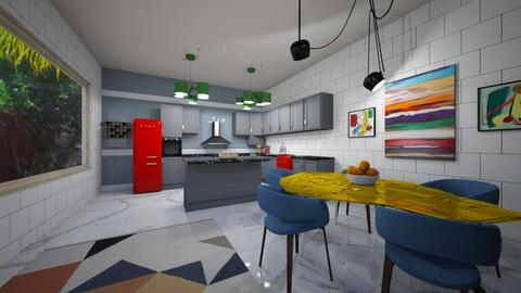 Colorful Kitchen - Kitchen - by Od123