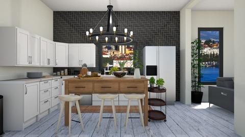 Random Kitchen  - Kitchen - by Yate
