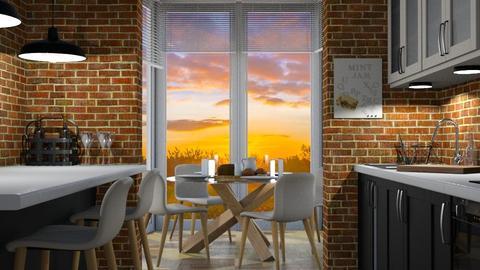 Kitchen Conservatory - Kitchen - by juliavalerie