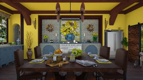 Design 384 Colorful Kitchen - Kitchen - by Daisy320