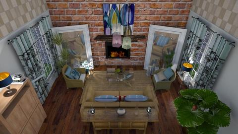 Country corner  - Country - Living room - by The quiet designer