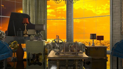 yujkl - Glamour - Living room - by Ariadne491