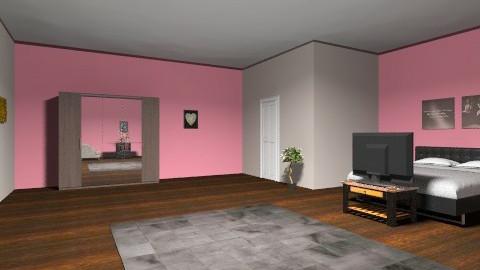 my mums bedroom  - Bedroom - by karolina1408