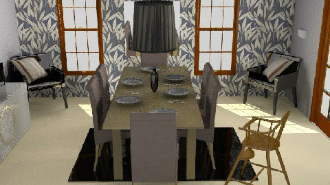 dining room 1` - Dining Room - by katee123