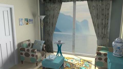 zietta2 - Retro - Living room - by catcarla