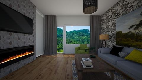 living Dl OmanuFacebook4 - Living room - by elena_daniela04