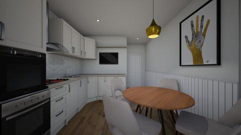 Julia apartment kitchen 2 - Kitchen - by Vladilena Kipriyanova