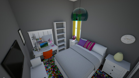 my room - Bedroom - by AshleyRowland01