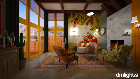 mexican design - Country - Living room - by DMLights-user-982918