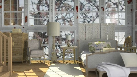 Warehouse Conversion - Eclectic - Bedroom - by hunny