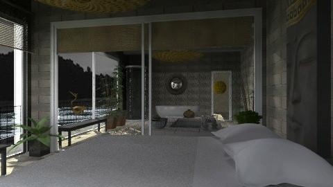 lake bath - Eclectic - Bathroom - by chania