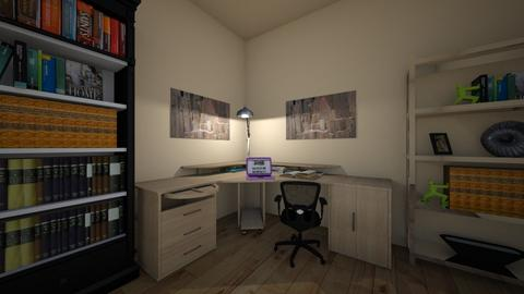 Anna - Minimal - Office - by __Nikoletta__