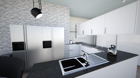 VSHouse Kitchen - Modern - Kitchen - by krystldy