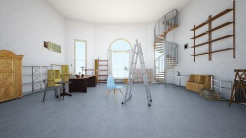 art studio - Vintage - Office - by sofy_gzz