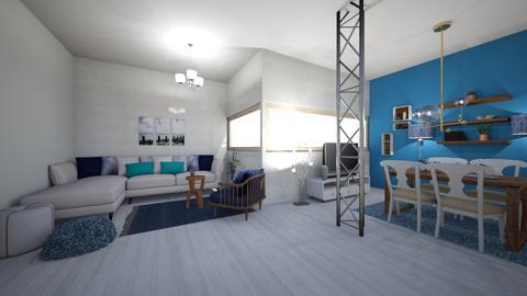III - Modern - Living room - by TeodoraYord