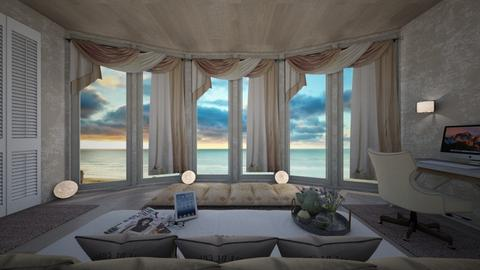 ocean - Bedroom - by daydreamer84