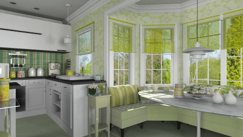 Breakfast Nook 22 - Modern - Dining room - by annerie12344321