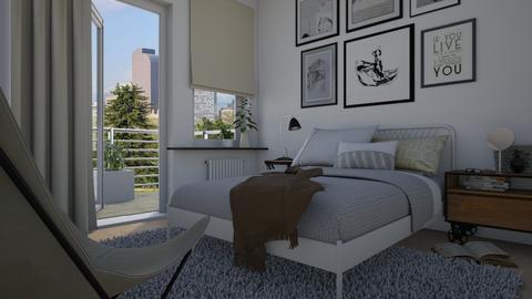 Sleeping alone - Bedroom - by Tuitsi