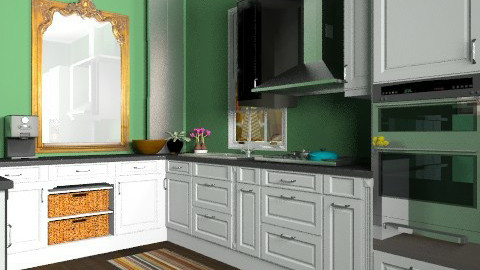 John Lewis Kitchen - Classic - Kitchen - by lmurphy32