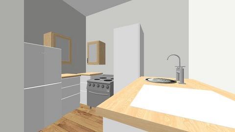 kitchen reno V1 - Kitchen - by Zephyroos