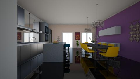 RKJ - Kitchen - by Jacqueline De la Guia