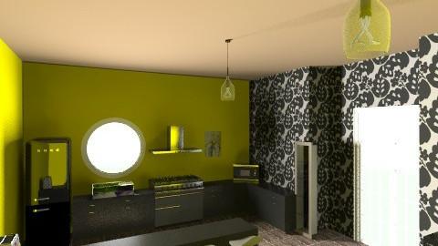 Kitchen1 - Modern - Kitchen - by BlondeGoode