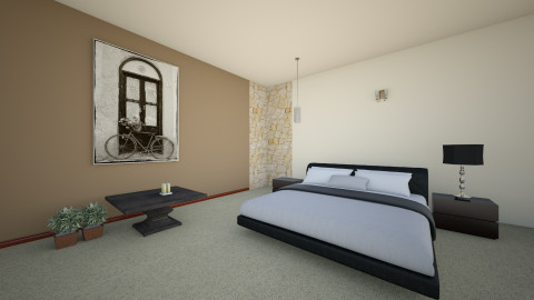 Project 5 - Modern - Bedroom - by Tughral