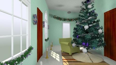 christmas corridor - by evvivameiauia