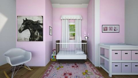 Baby Girl Room - by alderk26
