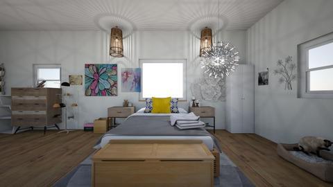 Dream bedroom - Modern - Bedroom - by HannahInteriorDesign