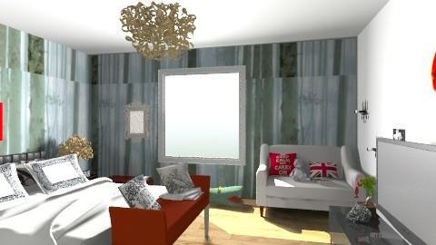 bedroom - Modern - Bedroom - by cathycatarina